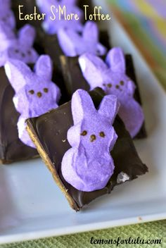Easter S'More Toffee | lemonsforlulu.com