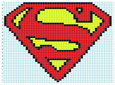 Superman Photo: This Photo was uploaded by Lystessa. Find other Superman pictures and photos or upload your own with Photobucket free image and video ho. Logo Superman, Superman Symbol, Batman, Spiderman, Knitting Charts, Knitting Stitches, Knitting Patterns, Free Knitting, Crochet Chart