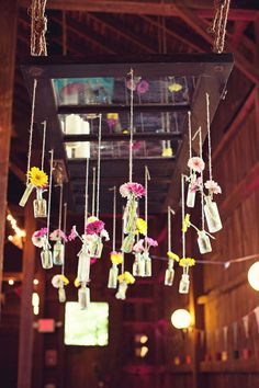 rad hanging flower vases