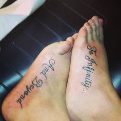 Best friend tattoos Yep! @Alex Brelsford