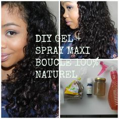 diy gel de lin bouclant spray activateur de boucles 100 naturel - Coloration Vgtale Sans Henn