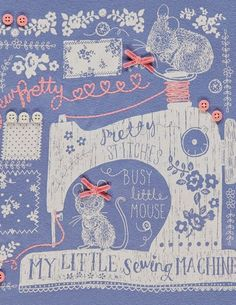 Beautiful details and lettering. Winter Illustration, Pattern Illustration, Kids Prints, Art Prints, Kids Graphic Design, Kids Graphics, Novelty Print, Asda Kids, Cute Drawings