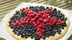 4th of July Fruit Pizza