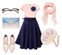 """""""Evening out"""" by annina-marina on Polyvore featuring мода, Rebecca Minkoff, Puma, Old Navy и Monsoon"""