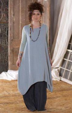 Dulcina Shift Unprinted : Blue Fish Clothing