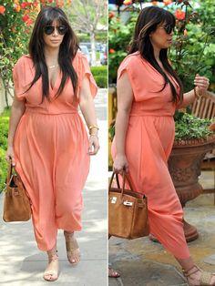 Kim Kardashian Baby Bump