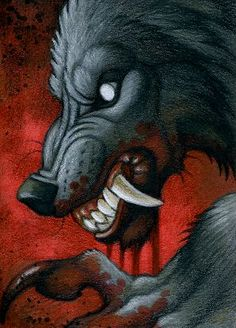 ACEO - Blood by *kyoht on deviantART