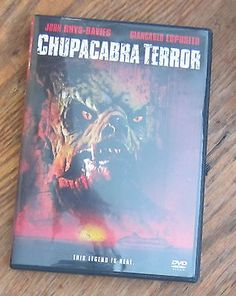 Chupacabra Terror (DVD, 2005) John Rhys-Davies, Giancarlo Esposito, Dylan Neal