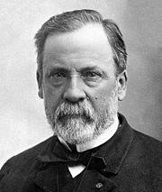 Louis Pasteur, chimiste et biologiste (1822-1895)  Louis Pasteur, né à Dole (Jura) le 27 décembre 1822 et mort à Marnes-la-Coquette (à cette époque en Seine-et-Oise) le 28 septembre 1895, est un scientifique français, chimiste et physicien de formation, pionnier de la microbiologie, qui, de son vivant même, connut une grande notoriété pour avoir mis au point un vaccin contre la rage.  Dʹaprès Wikipédia