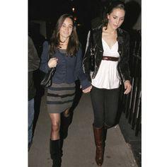 Kate et Pippa Middleton en 2007