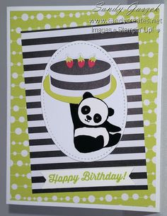 Paper Pumpkin-June 2018 - Broadway Star Stampin Up Paper Pumpkin, Panda Party, Pumpkin Cards, Star Cards, Kids Birthday Cards, This Little Piggy, Christmas Catalogs, Baby Design, Stampin Up Cards