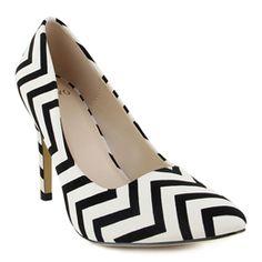Chevron heels - LOVE!!!