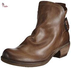 Fly London MORE, bottes femme - Gris - Grau (Lt. Grey 007), Taille 37 EU - Chaussures fly london (*Partner-Link)