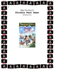Jack and Annie go on their fourth adventure to the time of pirates. Here is a ready -to-go, complete set of chapter questions and 4 extra activities $