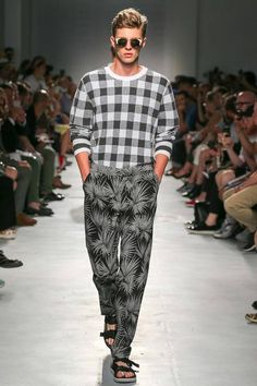 #Mfw #Menswear MSGM | Spring 2015 Menswear Collection | Style.com