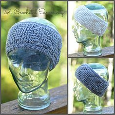 Crochet Pattern: Right This Way! (Reversible) Headwarmer by A Crocheted…