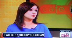 Heiddy Sulbarán. Life Coach en Café CNN Life, Interview
