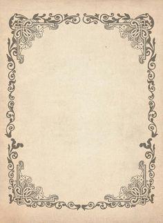 Vintage cover by geverto on DeviantArt Papel Vintage, Vintage Labels, Vintage Paper, Vintage Ephemera, Vintage Images, Vintage Prints, Vintage Dolls, Molduras Vintage