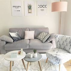 Living Room Sofa, Home Living Room, Apartment Living, Living Room Decor, Bedroom Decor, Living Room No Coffee Table, Interior Design Living Room, Living Room Designs, Interior Livingroom