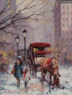 Snowdrifts Central Park NY $1400
