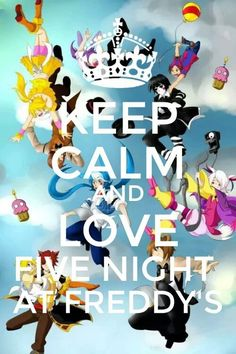 And always love Five Nights at Freddy's!