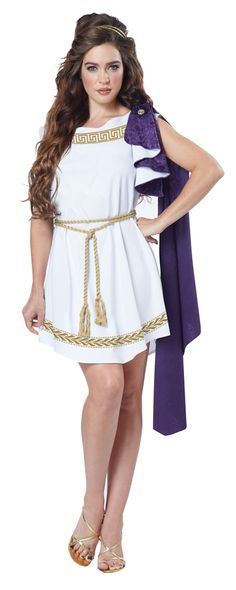 Grecian Toga Adult Womens Costume - 352747
