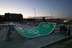 football skating...