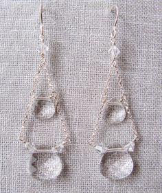 SWAROVSKI crystal gypsy earring by trinkjewelry on Etsy, $101.00