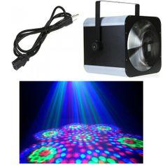 DMX512 RGB LED Magic Stage lighting Flower Effect Light Disco DJ Party