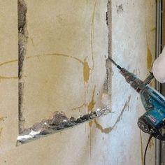 Ouvrir Un Mur En Parpaings Pour Installer Un Bloc Fenetre Mur En Parpaing Ouvrir Un Mur Porteur Mur Porteur