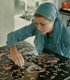 Grace Kelly by Howell Conant  Puzzle conqueror. Jamaica, 1967