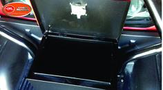 Caja Metálica con chapa de seguridad en acero inoxidable.