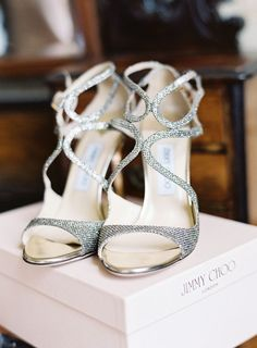 Jimmy Choo Shoes | Glamorous English Wedding | Depict Photography | Bridal Musings Wedding Blog