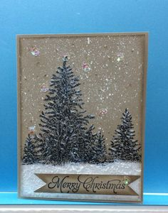 Lovely trees by jandjccc - Cards and Paper Crafts at Splitcoaststampers