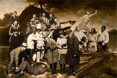 Le Radeau de la Méduse (Géricault) de Ballester. Grupo de la izquierda: Congreso de Constructivistas y Dadaistas, Weimar, 1922: