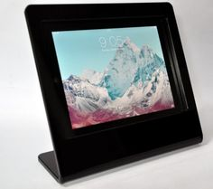 iPad-Air-Black-Acrylic-Anti-Theft-Stand-for-Kiosk-POS-Trade-Show-Square-Reader