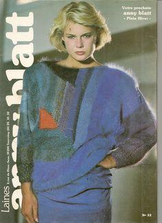 MAGAZINE ANNY BLATT N°59 tricot SPECIAL COUTURE : Autres Tricot et Crochet par…