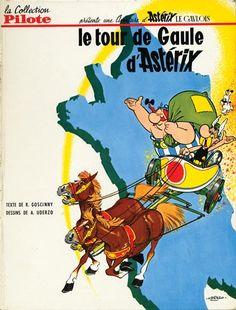Astérix -5- Le tour de Gaule  -  1965