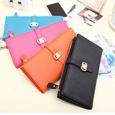 Find More Wallets Information about 2015  Ms. Wallet Card Pack Madam Folded Long Wallet Diamond Buckle Drawstring Purse Phone package Model CKQB025,High Quality package connections,China package tube Suppliers, Cheap package mix from Female-Fashion on Aliexpress.com