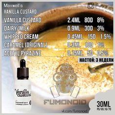 Maxwell's, Vanilla Custard