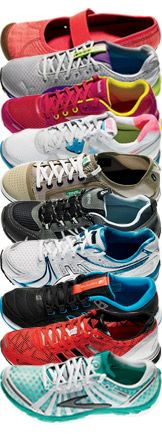 Best Workout Shoes 2012 -- The cutest and comfiest sneakers for every workout style. There really is a reason to have different type if workout shoes! This is my kind of article! Time to shop! Best Workout Shoes, Workout Gear, Workout Style, Sneakers Workout, Yoga Workouts, Workout Outfits, Workout Tanks, Cute Sneaker Outfits, Nike Outfits