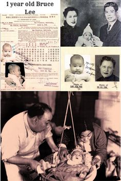 Bruce Lee 1 year old                                                       …