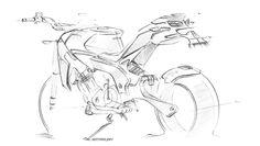 Motorcycle Concept Sketching by Adityaraj Dev