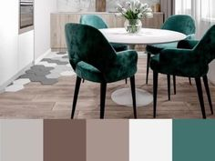 Warm Gray Paint, Warm Grey, Dining Chairs, Kitchen, Diy, Painting, Furniture, Home Decor, Chairs