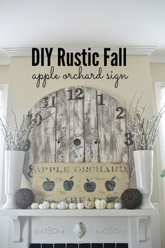 DIY Antique Orchard