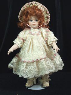 Heather by Maryse Nicole for Franklin Mint / Heirloom Dolls #Dolls