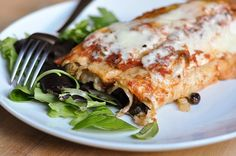 Easy Dinner #Recipe: Slow-Cooker Black Bean Enchiladas