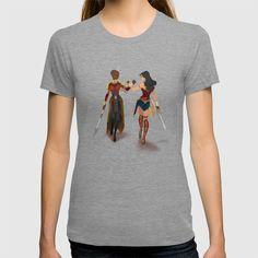 Buy Heroines Unite T-shirt by japicasso. Worldwide shipping available at Society6.com. Just one of millions of high quality products available.