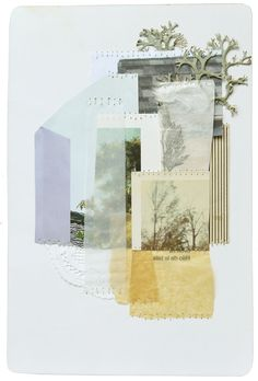 Art Magazine. For Example: collage by Linden Eller