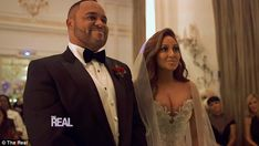 Be their guest: Adrienne Bailon and Israel Houghton wed on Friday in Paris and now fans can feel like they were part of the intimate wedding celebration with a sneak peek of the stunning celebration has been released ahead of Tuesday's special on The Real Celebrity Scandal, Celebrity Couples, Celebrity Weddings, Wedding 2015, Wedding Night, Adrienne Bailon Wedding, Wedding Videos, Wedding Photos, Israel Houghton